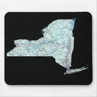 New York Map Mousepad