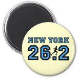New York marathon Fridge Magnet
