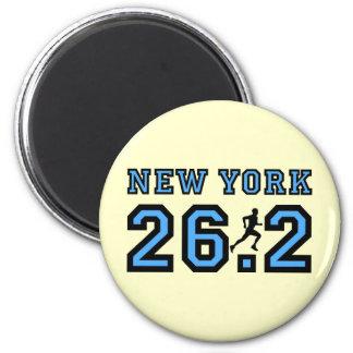New York marathon Magnet