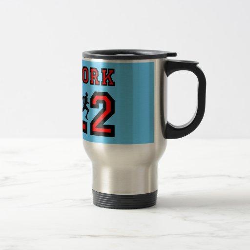 New York marathon Mug