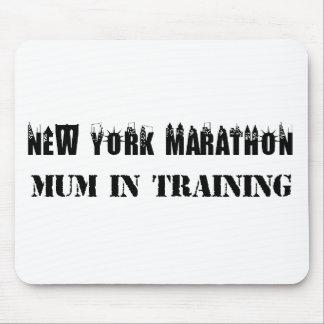 New York Marathon Mum in Training Mouse Pad