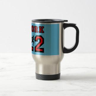 New York marathon Travel Mug