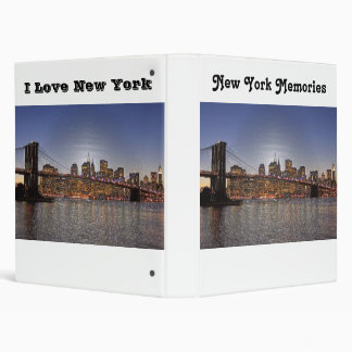 New York Memories Notebook Binder