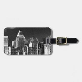 New York, metallic Tag For Luggage
