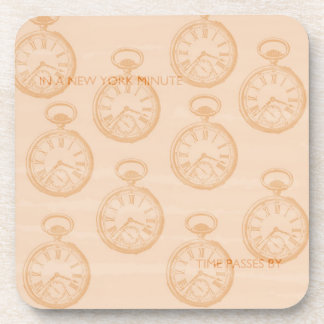 New York Minute Drink Coaster