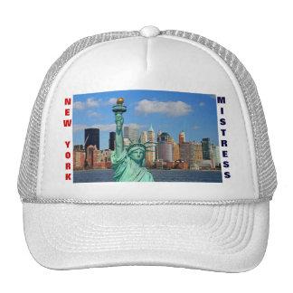 NEW YORK MISTRESS TRUCKER HAT