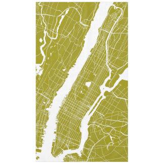 New York Modern Map Tablecloth