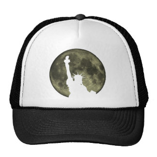 New York Moon and Statue Of Liberty Hat