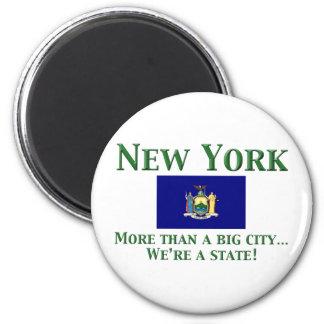 New York Motto Magnet