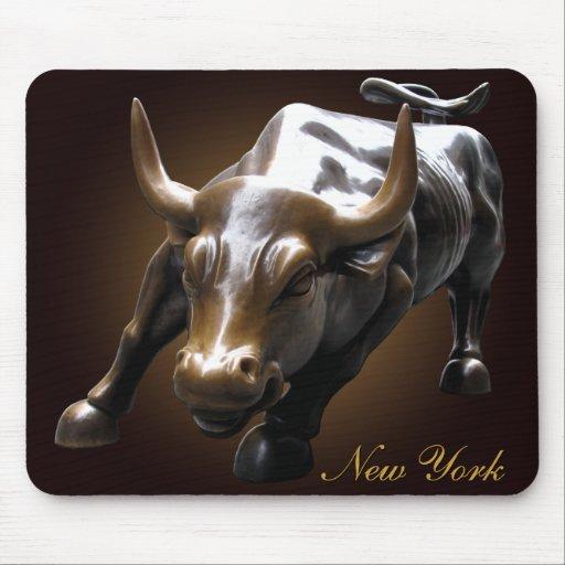 New York Mousepad Bull Landmark New York Gifts