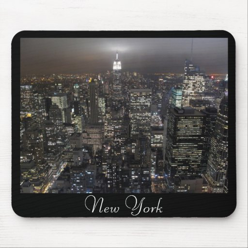 New york mousepad cityscape new york city gifts zazzle for Gifts for new yorkers