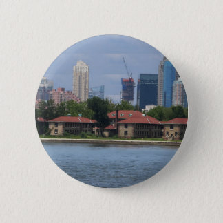 New York n Atalantic Beach Photography Navin Joshi Pinback Button