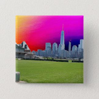 New York n Atalantic Beach Photography Navin Joshi Pinback Button