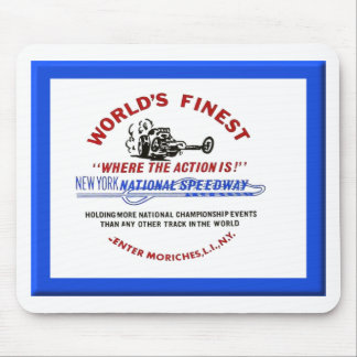 New York National Speedway Mouse Pads