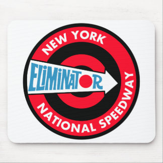 New York National Speedway Vintage sign Mouse Pads