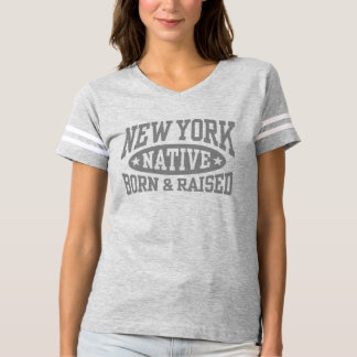 New York Native Born And Raised T-shirt