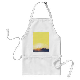 New York New York Adult Apron