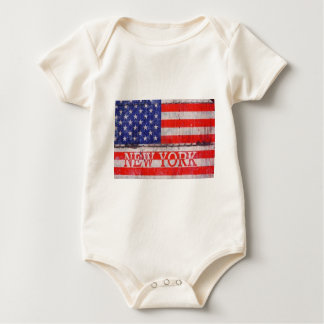 New York, New York Baby Bodysuit
