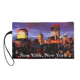 new york new york wristlet clutches