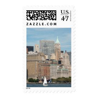New York, New York City. Downtown Manhattan City Postage
