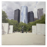 New York, New York City, Manhattan, Vietnam Large Square Tile