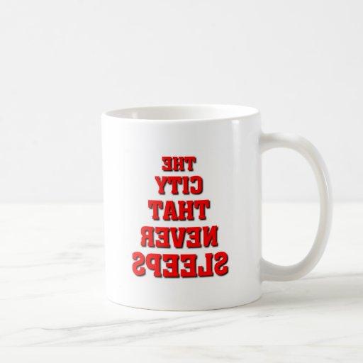 New York, New York Classic White Coffee Mug