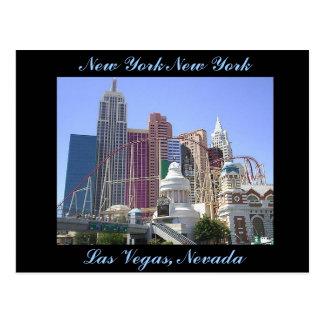 New York New York Hotel and Casino Postcard