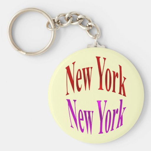 New York New York Key Chain