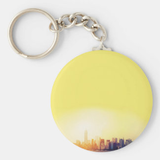 New York New York Keychain