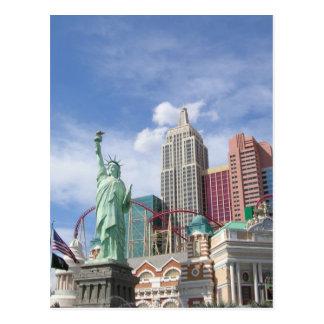 New York , New York  Las Vegas Postcard