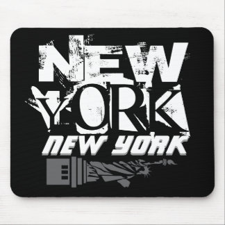New York New York Mouse Pad