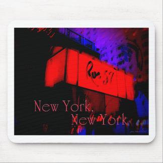 New York, New York Mousepad