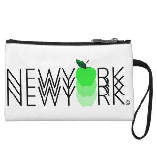 New York New York New York #2 Mini-Clutchness Wristlet