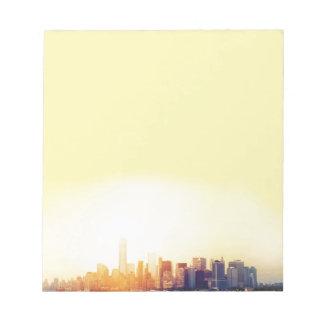 New York New York Notepad