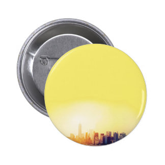 New York New York Pinback Button