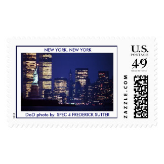 NEW YORK, NEW YORK POSTAGE