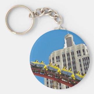 New York New York Roller Coaster keychain