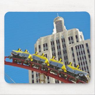 New York New York Roller Coaster mousepad