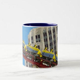New York New York Roller Coaster mug