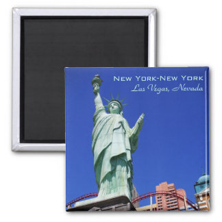 New York-New York S38 2 Inch Square Magnet
