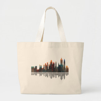 New York New York Skyline Large Tote Bag