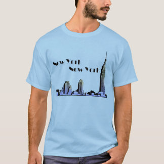 New York New York skyline retro 1930s style T-Shirt