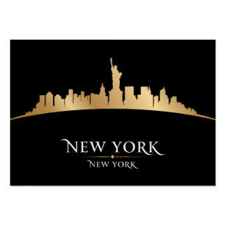 New York, New York - SRF Large Business Cards (Pack Of 100)
