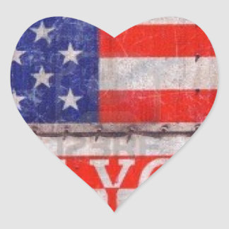 New York, New York Heart Sticker