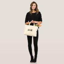New York, New York (typography) Mini Tote Bag
