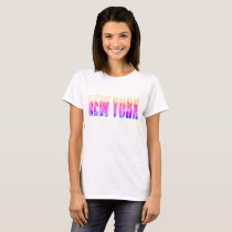 New York, New York (typography) T-Shirt