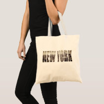 New York, New York (typography) Tote Bag