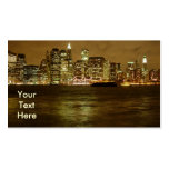 New York Night Business Card