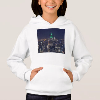 New York night skyline Hoodie