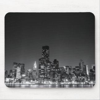 New York Night Skyline Mouse Pad